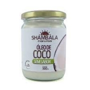 SHAMBALA Óleo de coco sem sabor 500ml