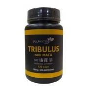SULPHYTOS TRIBULUS COM MACA 120 CAPSULAS 63% SAPONINAS  750mg