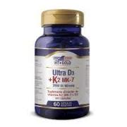 Vitamina K2 60mcg + D3 2000ui Vitgold 60 caps