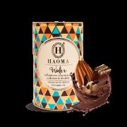 Wafer recheado com creme de avelã e cobertura de chocolate HAOMA 150G