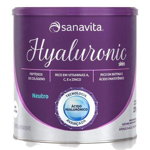 Acido Hialuronico HYALURONIC SKIN - Sanavita - 270g