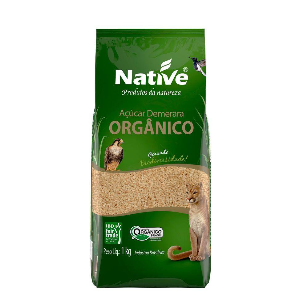 NATIVE Açúcar Demerara Orgânico 1kg