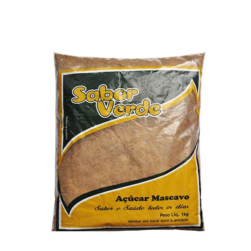 SABOR VERDE Açúcar Mascavo 1kg