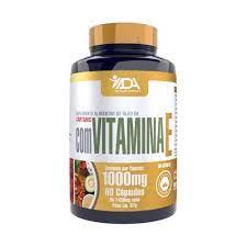 ADA Óleo de Cártamo + Vitamina E 60 Cápsulas 1450 MG