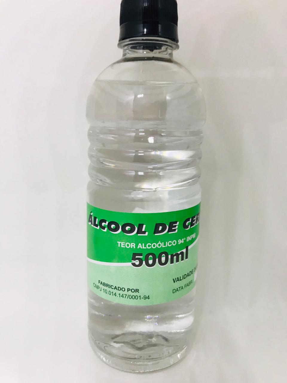 Álcool de Cereais - 500ml