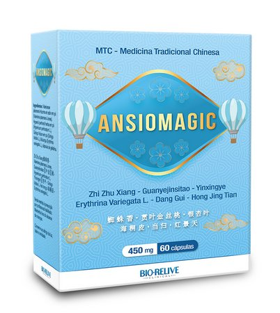 Ansiomagic Ansiolítico Natural 60 Caps - Bio-relive Clinical