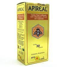 Apis Flora Geleia Real Apireal Com 30 Cápsulas
