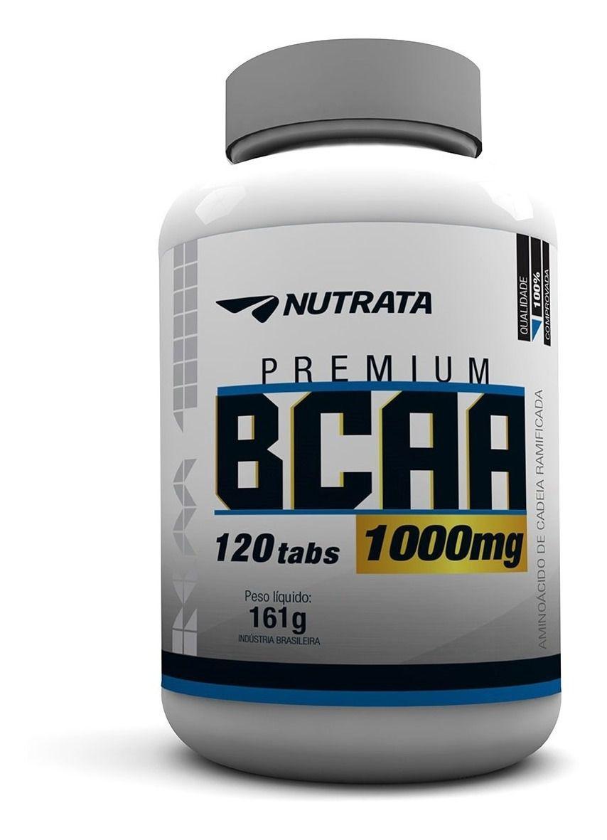 BCAA PREMIUM 1000mg - NUTRATA 120tabs