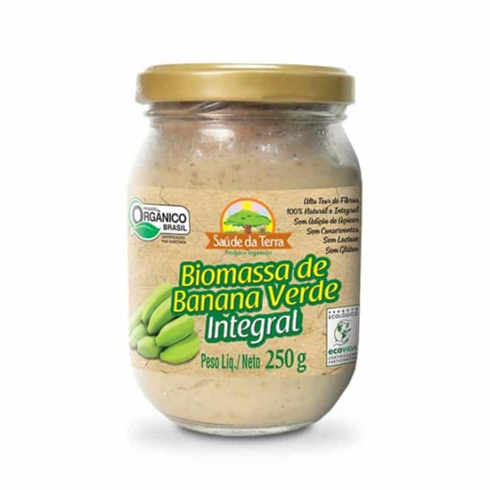 Biomassa de Banana Verde - 250g