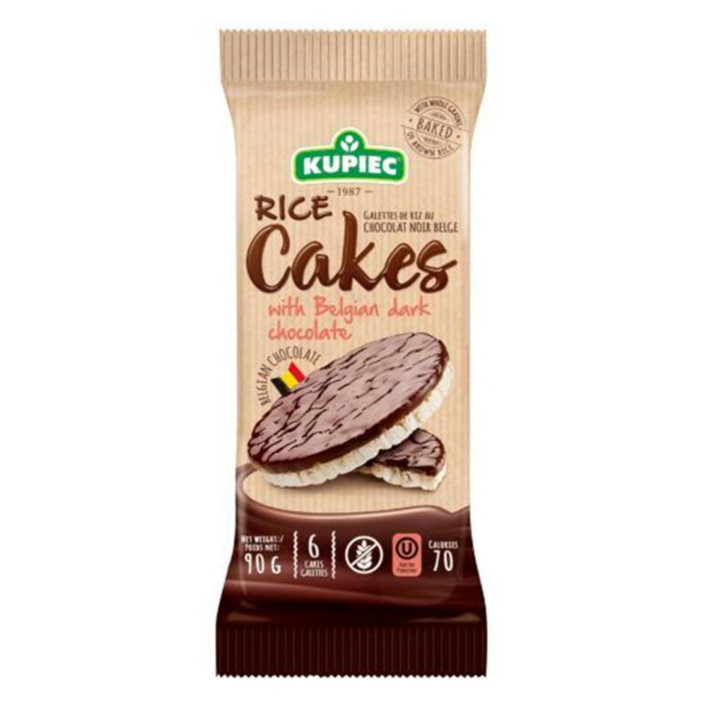 KUPIEC Biscoito de Arroz com Chocolate  - 90g