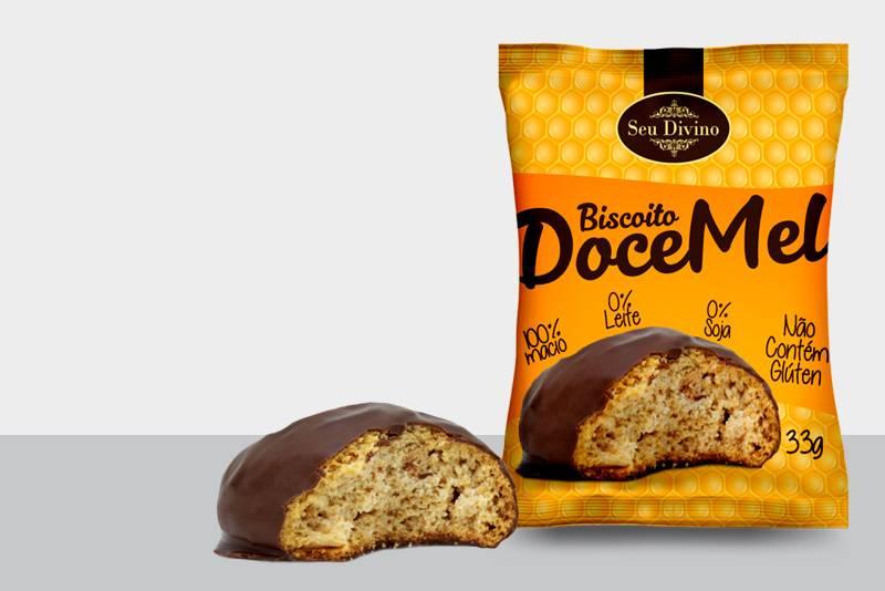 Biscoito Doce Mel Seu Divino - 33g