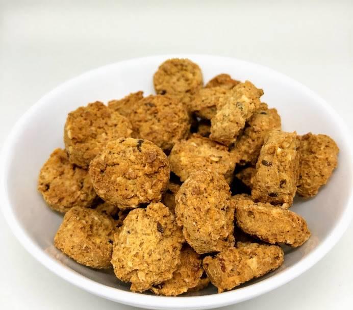 LOW CARB Biscoito  de Queijo Parmesão, sem açúcar e com super fibras prebióticas 100g