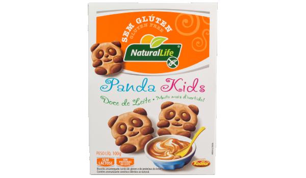 Biscoito sem glúten Panda Kids