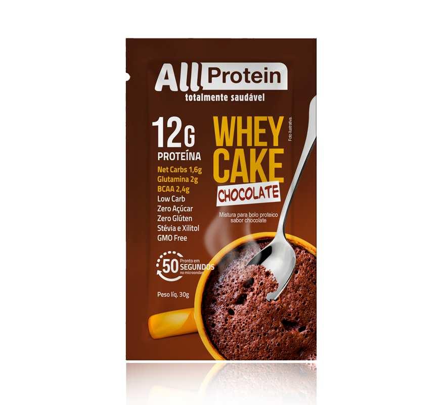 ALL PROTEIN Bolo de caneca com whey protein -  30g