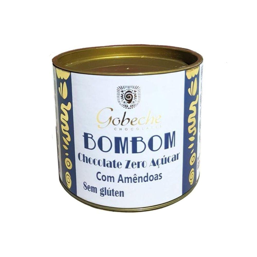 BOMBOM CHOCOLATE 70% COM CASTANHA DO PARÁ GOBECHE - 120G