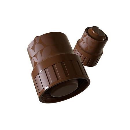 Brown Heat – Café Termogênico - 7 Cápsulas - Gaea Elementals