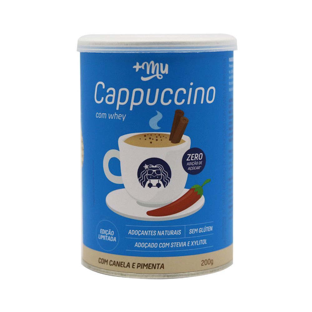 Cappuccino com Canela e Pimenta 200g +MU