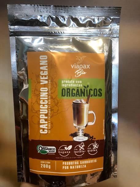 Cappuccino Vegano Orgânico Sem Glúten e Sem Lactose 200g