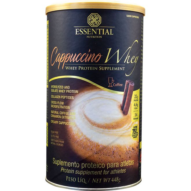 ESSENTIAL Cappuccino Whey - 448g