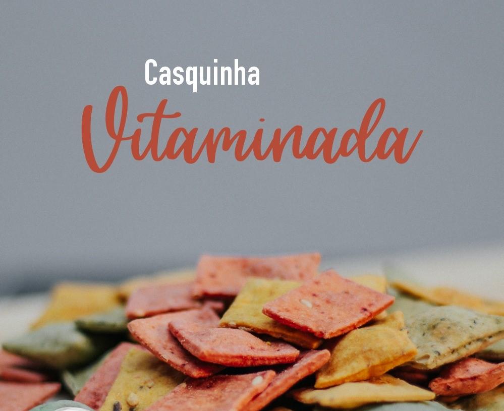 CASQUINHA SALGADA  VITAMINADA -100G