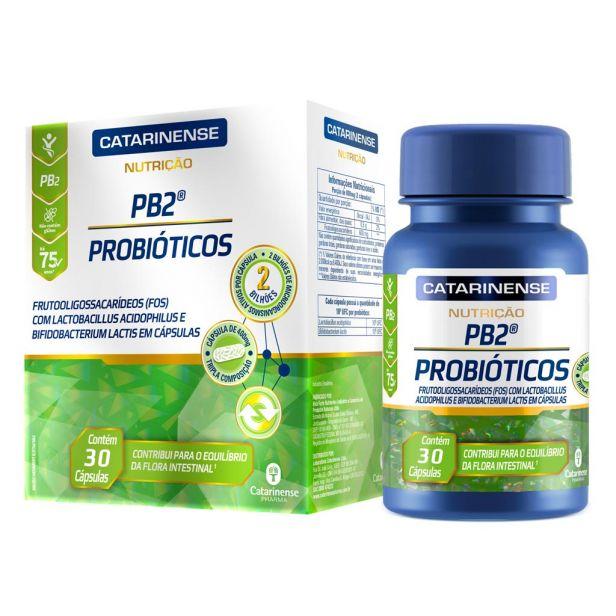CATARINENSE PB2 Probióticos 30 Cápsulas