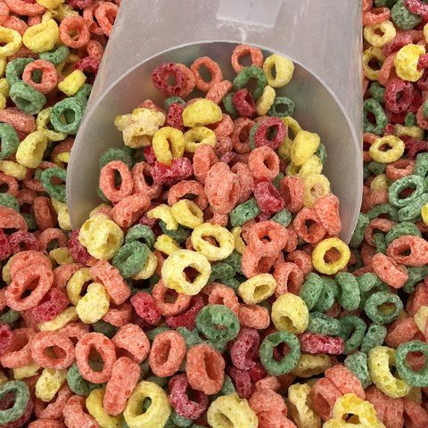 Cereal Fruit Rings 100g