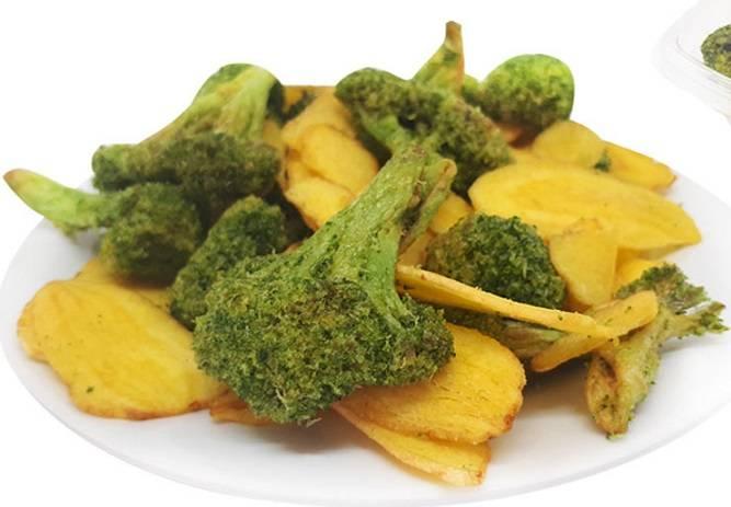 Chips de Mandioquinha com Brócolis Frispy - 100G