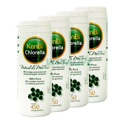 Chlorella KenBi - 450 comp.