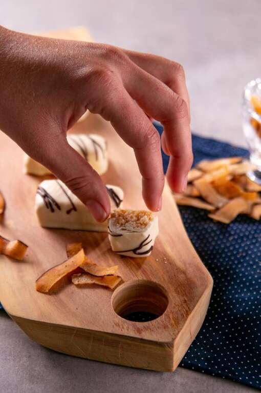 Chocoduo Chocolate Branco com Coco Queimado - 100g