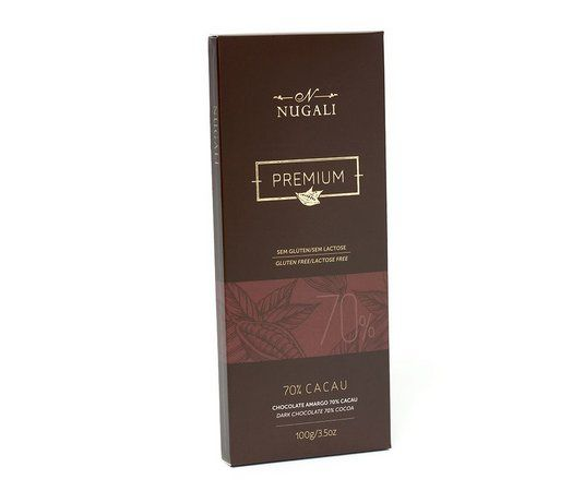 NUGALI Chocolate Amargo 70%