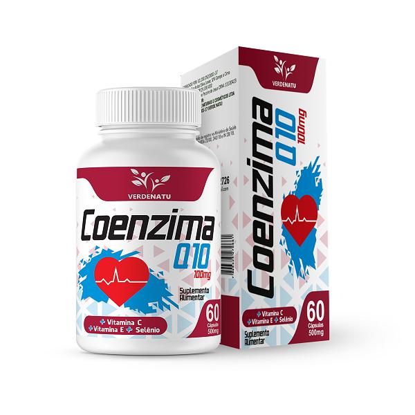 Coenzima Q 10 – 60 cápsulas (500mg)