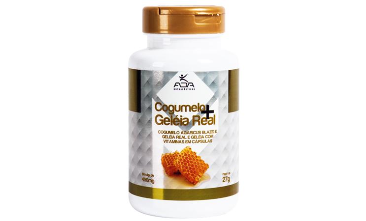 Cogumelo + Geleia Real - 60 cap