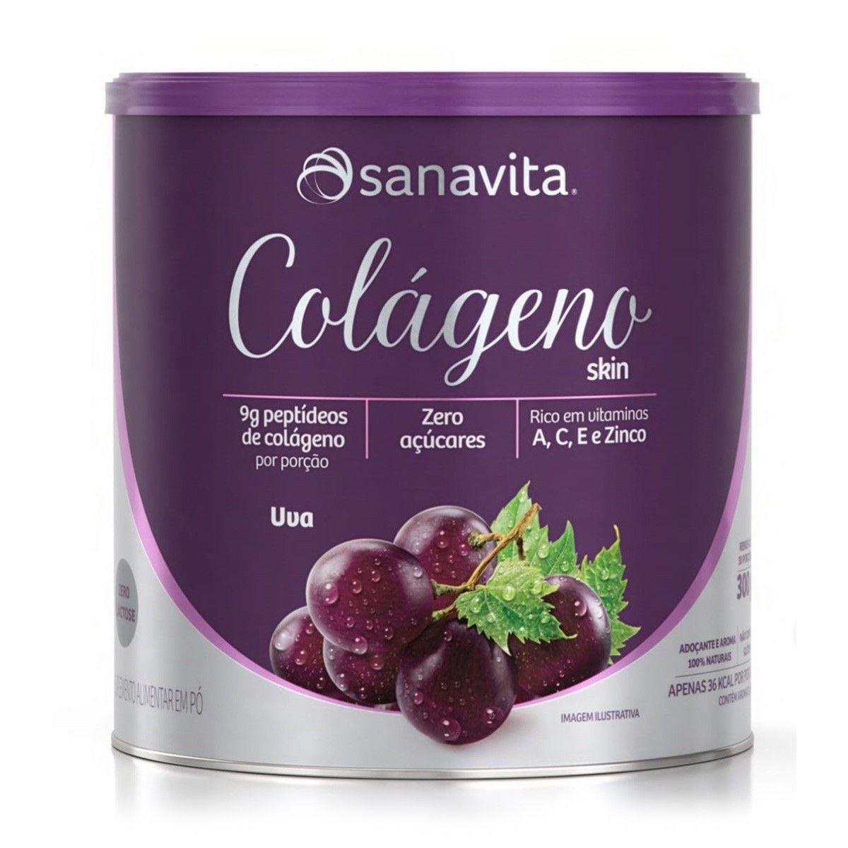 Colágeno Skin Sanavita - 300g