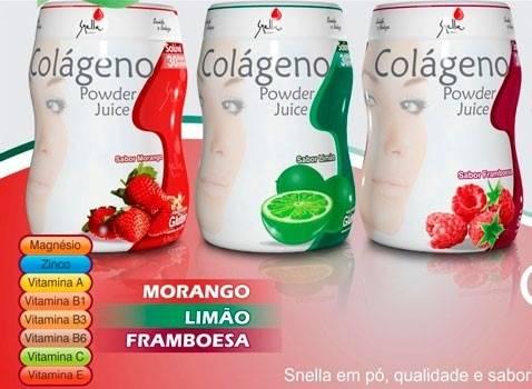 Colágeno Solúvel Powder Juice Snella - 150g