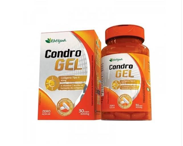 CONDRO GEL COLÁGENO TIPO II - 30 CAPSULAS