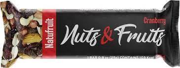 Duprata NATUFRUITS NUTS FRUITS CRANBERRIES - 25G