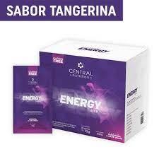 CENTRAL ENERGY ATP® TANGERINA 10G COM 30 SACHÊS - SABOR TANGERINA E CAFÉ VERDE
