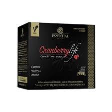 essential CRANBERRY LIFT 100g - Box c/ 20 sachês de 5g