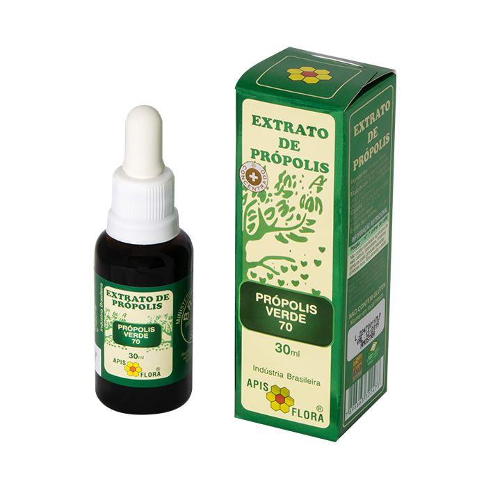 Apis Flora Extrato De Própolis Verde 70% 30ml -