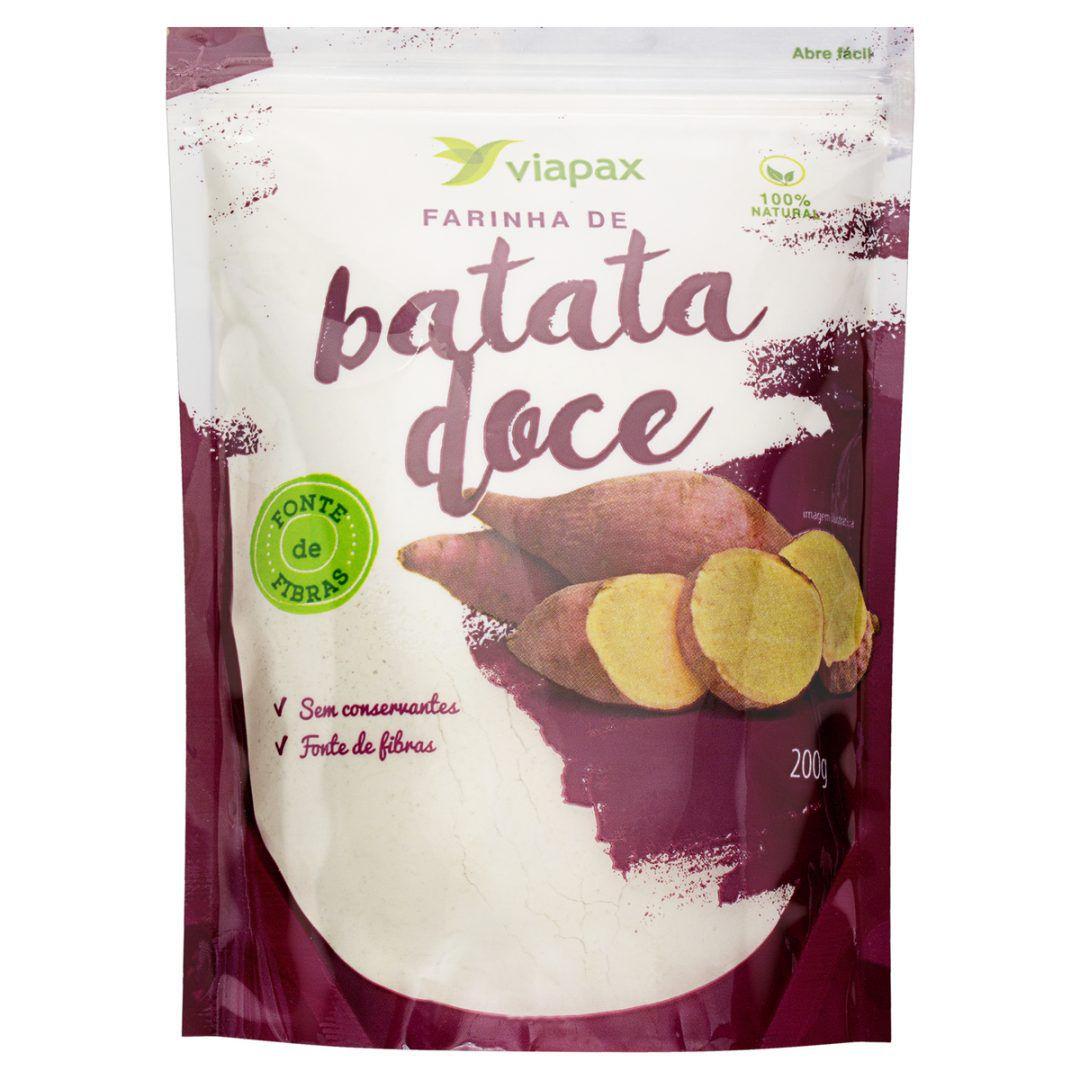 Farinha de Batata Doce Orgânica - 200g
