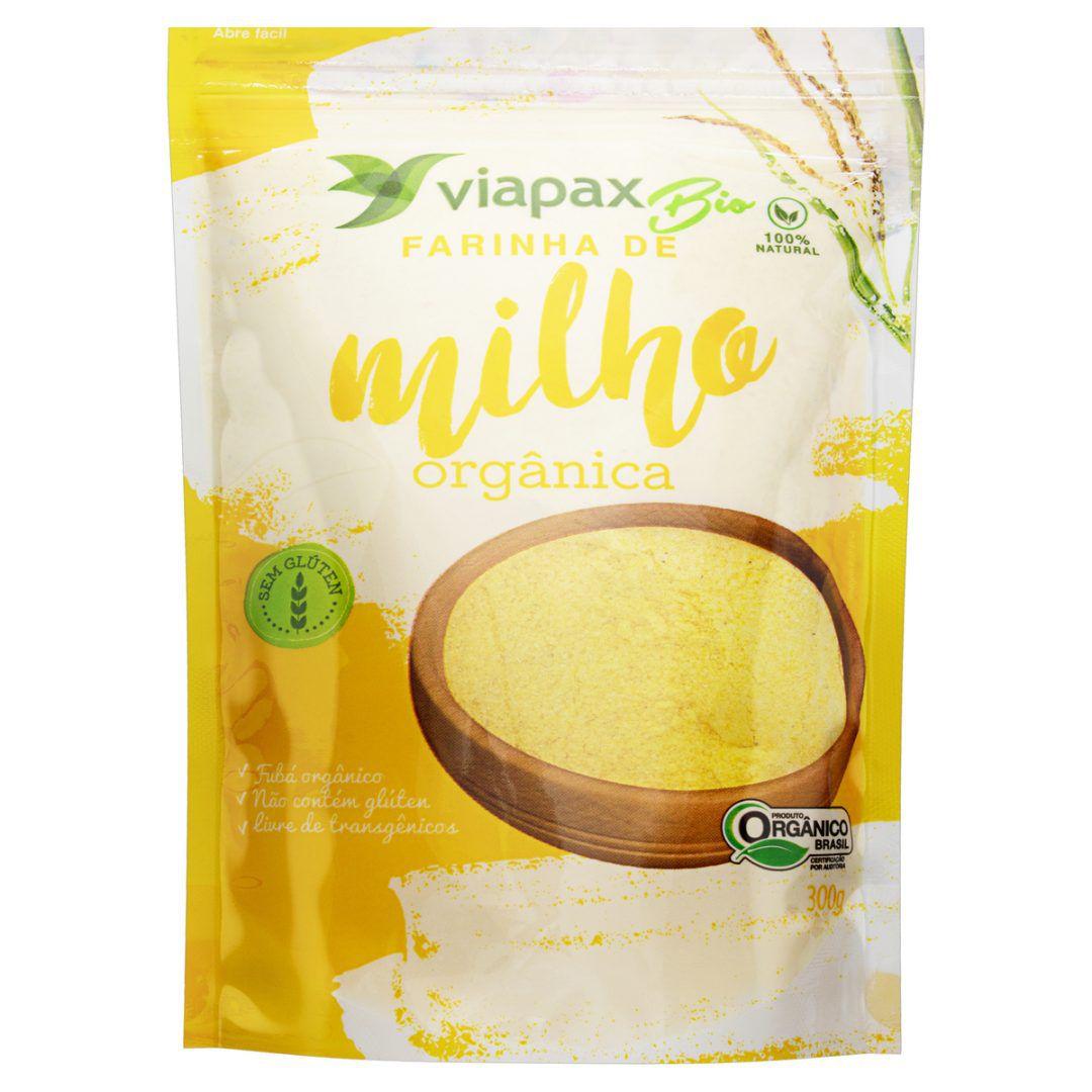 Farinha Orgânica de Milho Orgânica - 300g