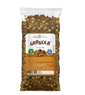 Granola Sem Glúten e Sem Leite 1kg