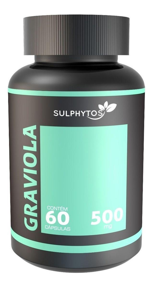 SULPHYTOS Graviola 500mg - 60 Cáps