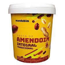 Mandubim Pasta de Amendoim Integral (450g) -
