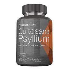 Mediervas Quitosana Psyllium 60 cápsulas 600 mg -