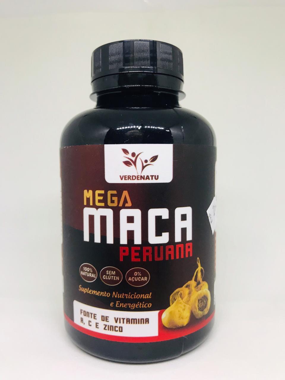 VERDENATU  Mega Maca Peruana - 60 caps