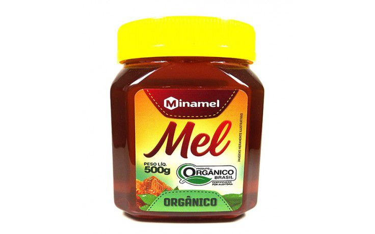 MEL ORGÂNICO MINAMEL - 500G