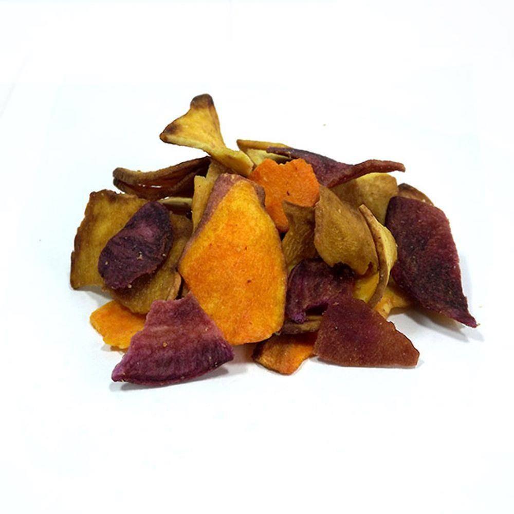 Mix de 3 Batatas Doces Desidratadas Frispy - 100g