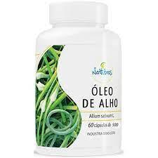 Nattubras Óleo De Alho Desodorizado 500mg 60 Cápsulas