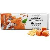 Natural Protein Bar Caramelo e Amendoim de 60g Puravida